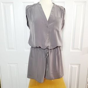 ZOA Drawstring Drop Waist Dress